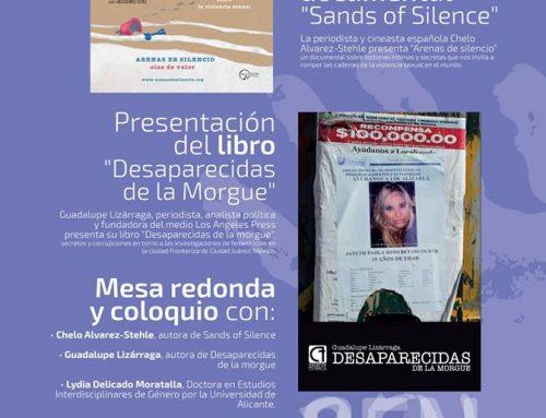 """Presentación del documental """"Sands of silence"""" y presentación del Libro """"Desaparecidas de la Morgue"""""""