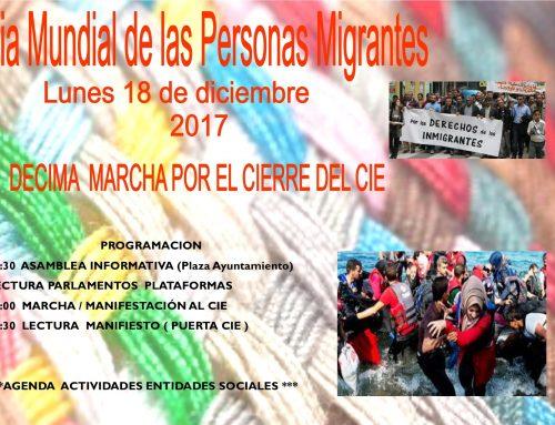 Día mundial de las personas migrantes