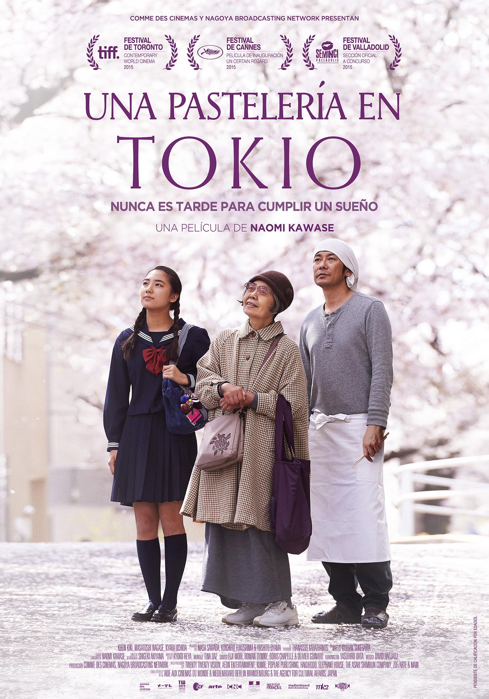 """Proyección y debate película """"una pastelería en Tokyo"""". 21 Febrero. 16:45 Colegio Enfermería Alicante. Dentro de laCampaña Dia Internacional de la Lepra de Fontilles"""