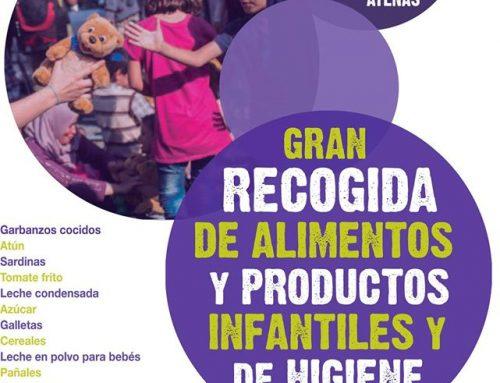 Recogida de productos de primera necesidad. Campaña Karam
