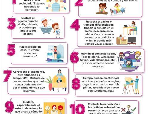 Recomendaciones del Ayuntamiento de Guardamar del Segura. Covid 19